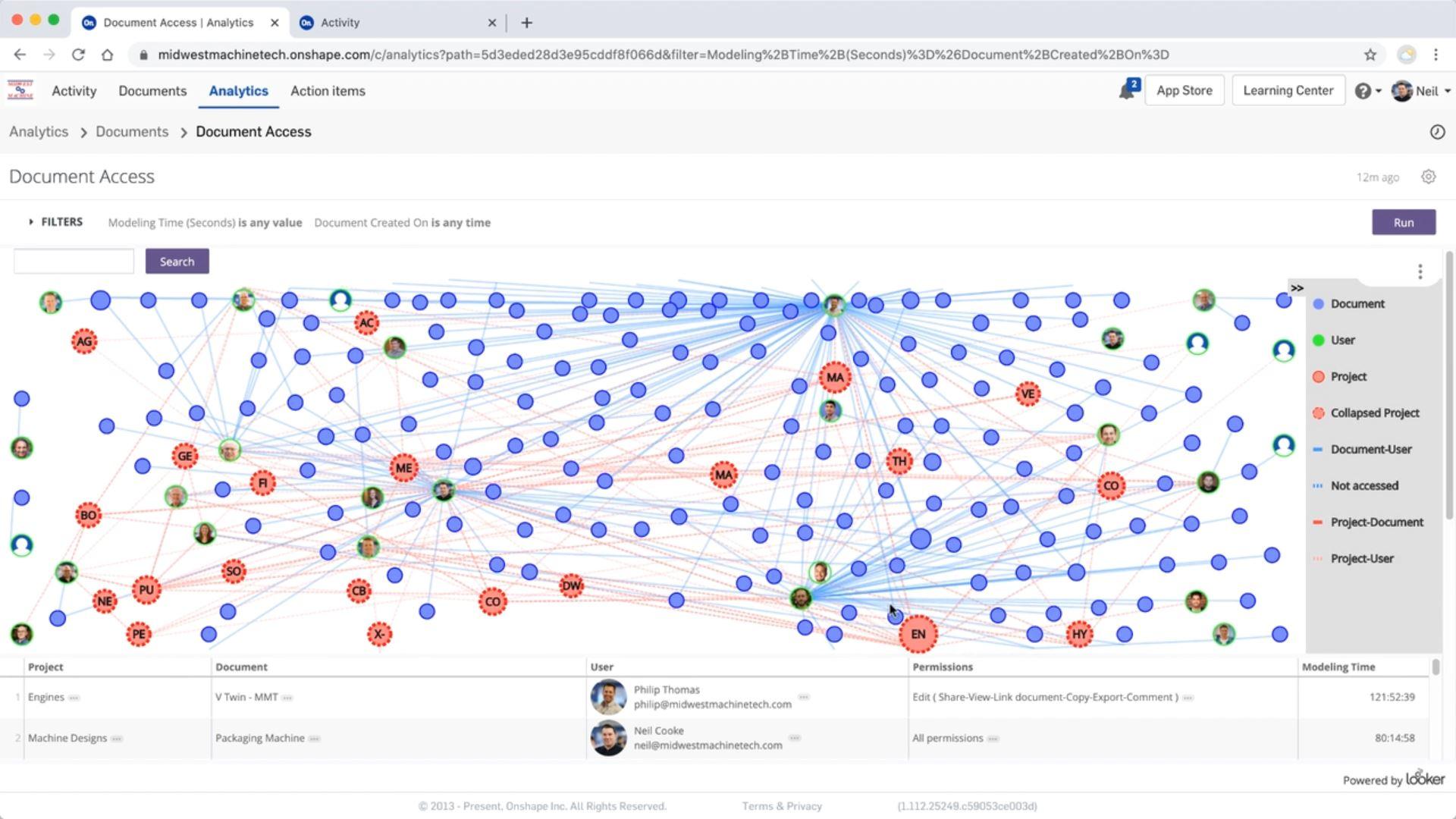 Echtzeit-Datenanalysen mit Onshape Enterprise