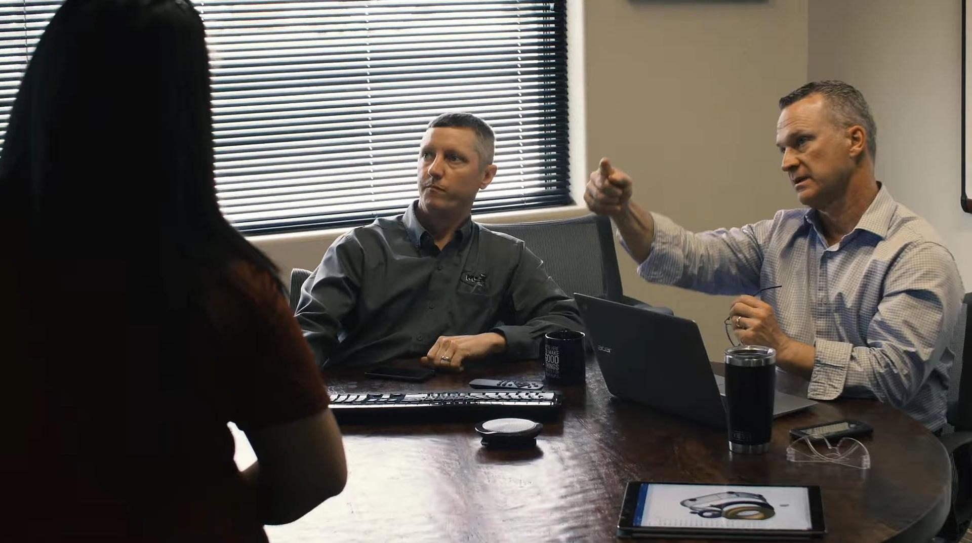 In Meetings können technische Dokumente schnell gezeigt werden