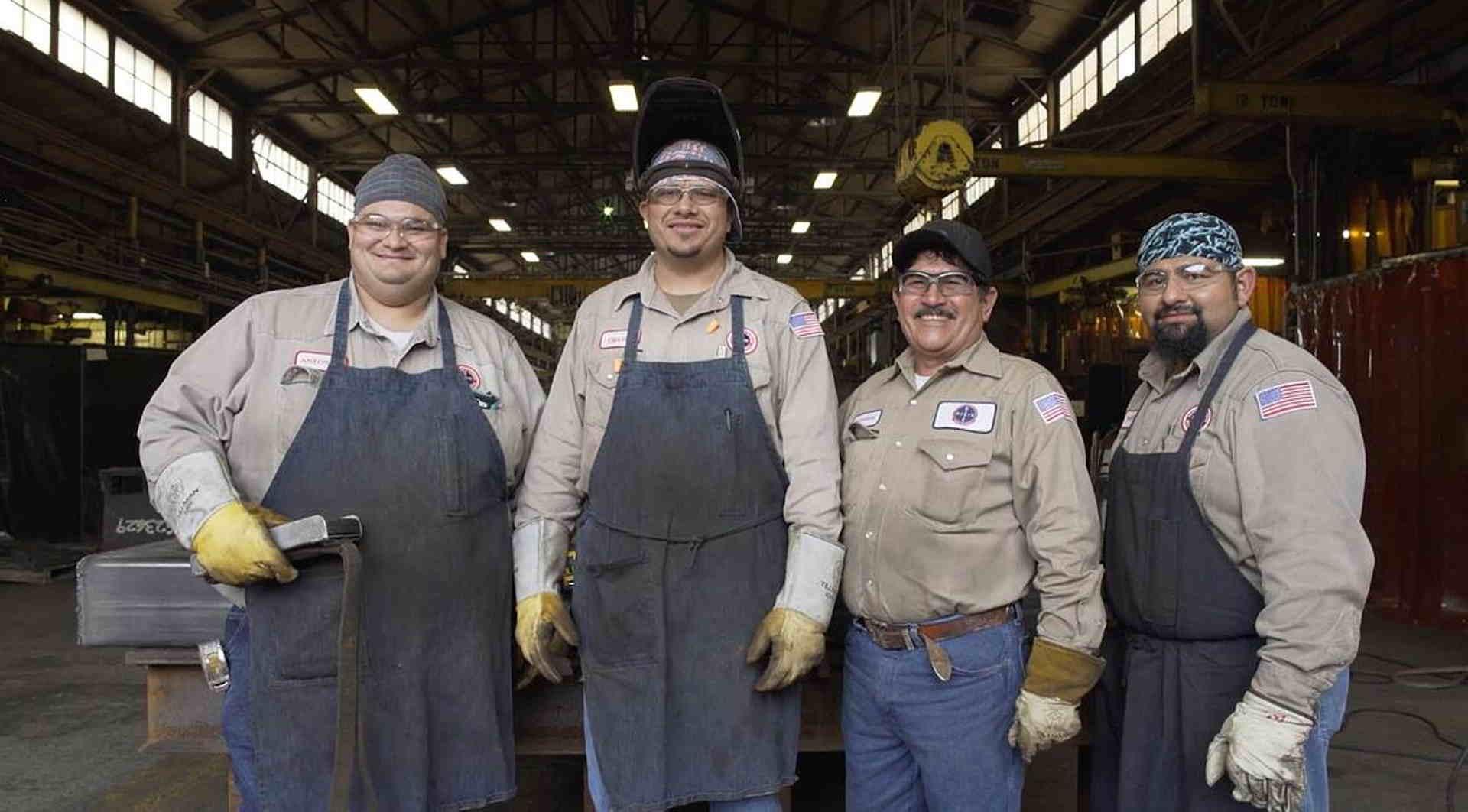 Das Team von Dixie Iron Works