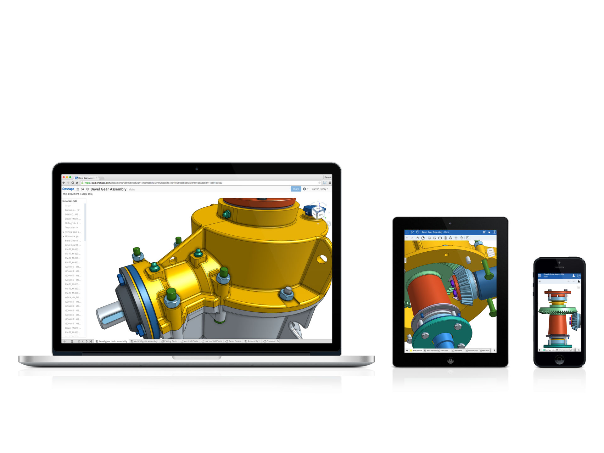 Onshape on All devices